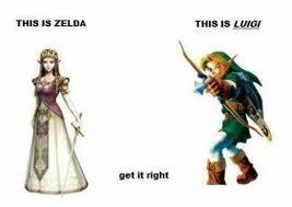 Zelda Memes - dopl3r com memes this is zelda this is luigi get it right