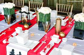 New Year Dinner Decoration by Chinese New Year Party Idea