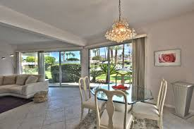 best location for this mid century modern condo in central palm