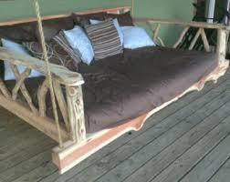 porch swing bed queen