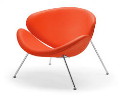 spike orange accent chair accent chair for living room