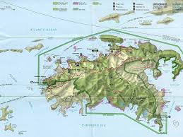 Map Of The Caribbean Islands Maps Of Roatan Island In The Western Caribbean Area Where Is The