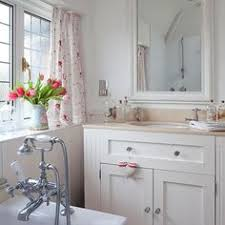 Shabby Chic Bathroom Vanity Unit by Little Country Bathroom Love The Ceiling Fan Love The Claw
