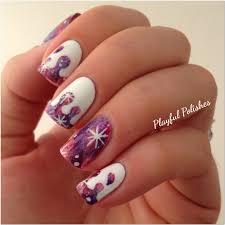 playful polishes 31 day nail art challenge galaxy nails