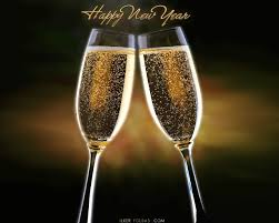 new years chagne flutes happy new year from sip sip certified