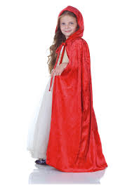 Little Red Riding Hood Makeup For Halloween by Child Red Panne Cape