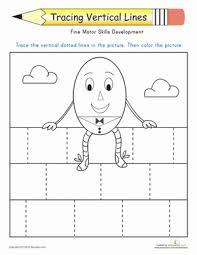 tracing vertical lines worksheet education com