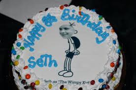 birthday traditions 3 u2013 photo cake u2013 pickle jinx
