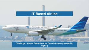 Garuda Indonesia The Of It Architect In Enterprise Company Garuda Indonesia