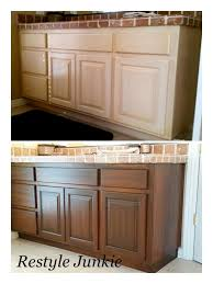 Faux Finish Cabinets Kitchen Best 25 Gel Stain Cabinets Ideas On Pinterest Stain Kitchen