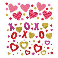 Shopwildthings Com Coupon by Romantic Love Heart X O Confetti Confetti Gold Confetti And