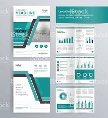 Newspaper Book Report Template Company Profile Annual Report Brochure Template Stock Vector Art