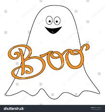 happy halloween boo ghost stock vector 712398907 shutterstock