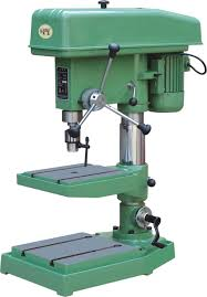 drill machine used to create holes in a solid piece of material