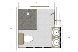 Creative Of Small Bathroom With Shower Floor Plans - Bathroom designs floor plans