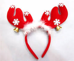 christmas headbands christmas reindeer headbands buy christmas antlers headband