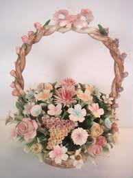 capodimonte basket of roses 33 best porcelain capodimonte flowers images on