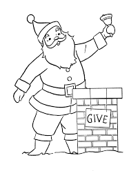 bluebonkers santa claus coloring pages 8