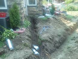 pittsburgh french drain systems j bird u0027s landscaping