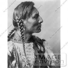 free mative american braids for hair photos mandan native american man with braids spotted bull 7058 by
