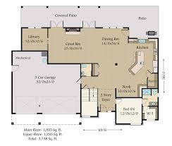 8000 Square Foot House Plans Mountain Ridge 1 Mark Stewart Home Design