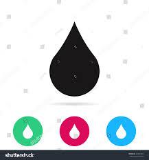 raindrop vector icon stock vector 429094873 shutterstock