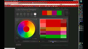 Website Color Schemes 2016 How To Use Color Scheme Designer Youtube