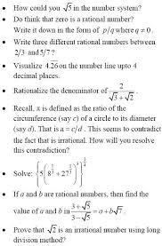 cbse class 9 mathematics chapter 1 important questions