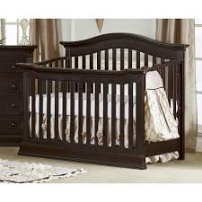 Espresso Convertible Crib by Convertible Crib With Changing Table Attached Gray U2014 Thebangups