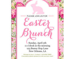 easter birthday invitation printable or printed with free