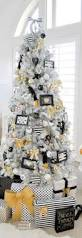Black White Christmas Decorations For Trees by Tuxedo Black Christmas Tree Black Christmas Trees Black
