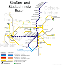 Berlin Metro Map by Stadtbahn Essen Metro Map Germany