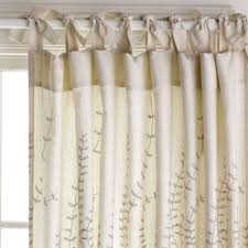 Tie Top White Curtains White Tie Top Curtains Avery Window Curtain Set Of 2 Walmart Com