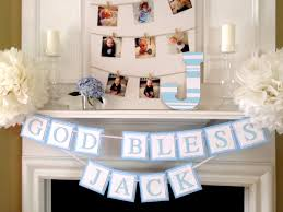 cool decoration ideas for christening designs and colors modern
