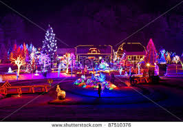 christmas houses christmas lights house stock images royalty free images vectors