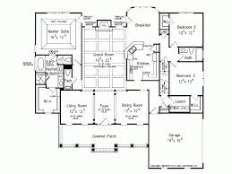 Impressive Design Rambler Floor Plans Eplans Colonial House Plan Impressive Grand Room 2296 Square