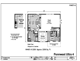floor plans for 2 story homes pennwest 2 story modular pennwest ultra 4 ha401a find a home