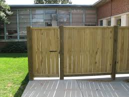 wood privacy fence with custom trim work asheville fence and
