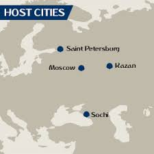 russia world cup cities map fifa confederations cup russia 2017 svoy sport
