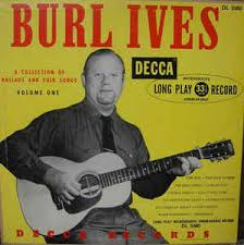 burl ives a collection of ballads and folk songs volume i
