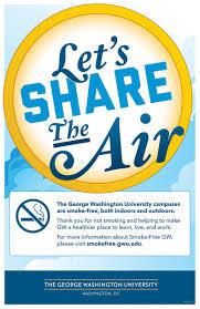 George Washington University Map by Tools And Communications Smoke Free Gw The George Washington