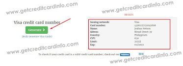 tutorial hack visa get fresh valid credit card numbers with fake details and security