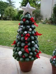 arbolito de navidad realizado en porcelana fria navidad en