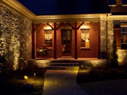 Outdoor Column Light by Landscape Lighting Enlightened Lighting