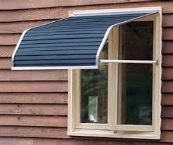 Metal Window Awnings With Aluminum Window Awnings Window Awnings And Shutters Pinterest