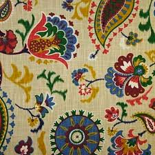 Waverly Upholstery Fabric Sales Waverly Siren Song Majestic Suzani Floral Vine Drapery Fabric