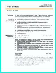 construction superintendent resume templates a professional