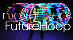 helix led hoop futurehoop by moodhoops