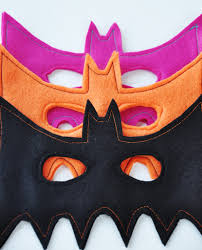 bat mask tutorial template living punks