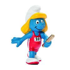 the smurfs the smurfs schleich figure the smurf relay runner 20739 bd